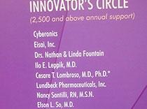 La American Epilepsy Society contó con grandes donaciones monetarias