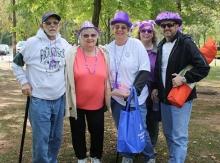 Nuestro Equipo en la Caminata para la epilepsia en New Jersey